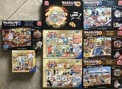 Lot Of 8 Wasgij Retro Ravensburger What If Jigsaw Puzzles