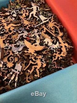 Lugano, Switzerland By Linnea Pergola Liberty Wooden Puzzle 582 Pieces