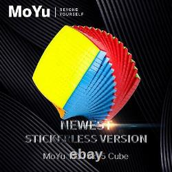 MOYU 15x15 Stickerles Speed Magic Cube Puzzle Beyond Yourself Professional Toy