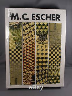 M. C. Escher Metamorphose Selegiochi Milano 3000 Piece Jigsaw Puzzle Sealed