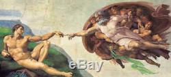 Michelangelo Erschaffung des Adam Clementoni 13200 Teile Puzzle 38004 NEU+OVP