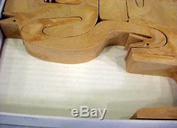Mint Enzo Mari 16 Animali Puzzle 3015d Italy 1974 Rare And Has Box
