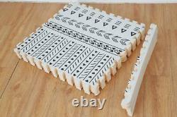 Modern Interlocking Foam Mat Soft EVA Puzzle Floor Carpet Tiles Play Rooms mat
