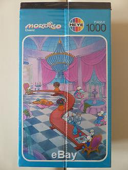 Mordillo Cheers jigsaw puzzle 1000 pcs, 1991 (Heye, 8772), NEW, SEALED