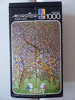 Mordillo Grande Amore Jigsaw Puzzle 1000 Pcs 1984 Heye