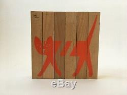 NAEF Sabu Oguro wooden toy Animal Puzzle / Jigsaw Very rare