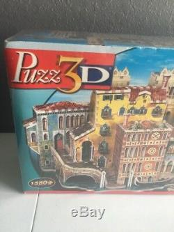 NEW! Puzz 3D Puzzle Foam Wrebbit A Street in Venice Sealed Collectible Rare HTF