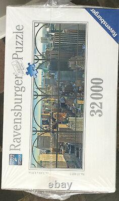 NEW RARE Ravensburger 32000 PIECES New York City Window HUGE 214 x 76
