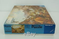 NEW RARE Vintage Ravensburger Jigsaw Puzzle 5000 Piece 1978 Last Battle