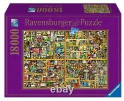NEW Ravensburger Jigsaw Puzzle 18000 Pieces Colin Thompson Bookshelf