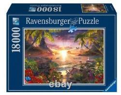 NEW Ravensburger Jigsaw Puzzle 18000 Pieces Tiles Paradaise Sunset