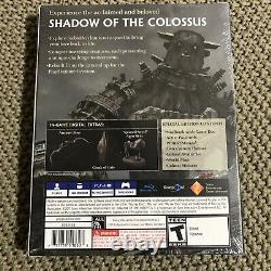 NEW Shadow of the Colossus Special Edition (Sony PlayStation 4, 2018)