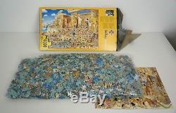 NEW VERY RARE -Heye Jigsaw Puzzle 4000 Piece Egyptian Party Hugo Prades y 2000