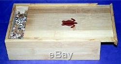 New Hand Cut Wooden Japanese 541-piece Jigsaw Puzzle in plywood box