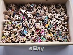 New Hand Cut Wooden Jigsaw Puzzle Impossible Teaser over 450 pcs in Wooden Box