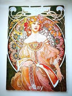 New Hand Cut Wooden Jigsaw Puzzle REVERIE DAY DREAM By Alphonse Mucha 400-500 pc