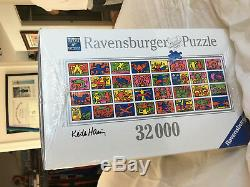 New Keith Haring Double Retrospect 32,000 piece puzzle, Factory Sealed