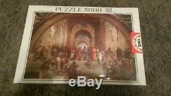 New Sealed 5000 Piece Puzzle Educa La Scuola di Atene Rafael Raffaello rare