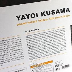 New! Yayoi Kusama Jigsaw Puzzle Pumpkin 1000 pieces Japan Exhibition Limited F/S