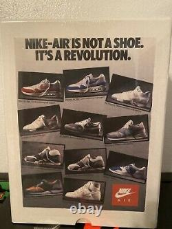 Nike Air 1987 Vintage Ad Jigsaw Puzzle Rare #78 Of #325