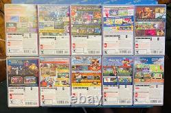 Nintendo Switch Game Lot 10 Games (Pokémon, Kirby, Donkey Kong, Mario, etc.)