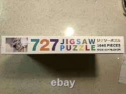 Ntwrk Exclusive 727 Jigsaw puzzle Takashi Murakami 1040 Pieces Puzzle In Hand