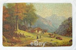 PAR Picture Puzzle, 750 piece vintage wooden jigsaw puzzle