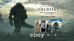 PS4 Shadow of the Colossus Special Edition HD Remake PlayStation 4 Exclusive Ico