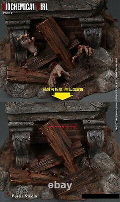 PUZZLE STUDIO Resident Evil Jill valentine 1/4 Resin Statue Cast Off Model New