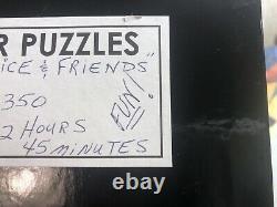 Par Puzzles Hand-Cut Wooden Jigsaw Puzzle 2015