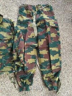 Para denison smock camo set Jigsaw Puzzle belgian paratrooper rare Congo Africa