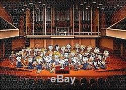 Peanuts Snoopy Jigsaw Puzzle 2014pcs Orchestra 73x102cm Apollo JP 2007 very rare