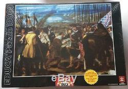 Puzzle 10000 Educa, The Surrender of Breda, Velazquez