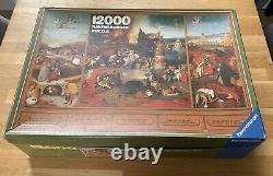 Puzzle 12000 Teile Ravensburger Hieronymus Bosch 1983