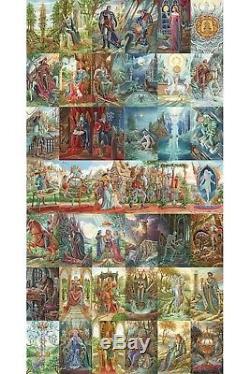 Puzzle 5000 pièces Florence Magnin Tarots d'Ambre (49145)