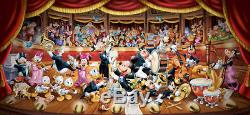 Puzzle Disney Orchester, 13.200 Teile, Comic, Donald, Micky Maus, Clementoni