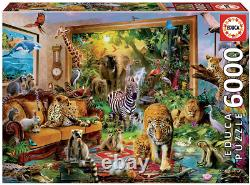 Puzzle Jigsaw 6000Pieces EDUCA cardboard Entrance to the bedroom gift Toys