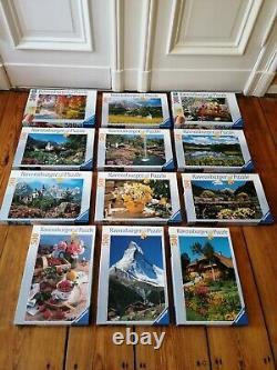 Puzzle Konvolut 25x Ravensburger, Schmidt, 500-2000er Neuwertig
