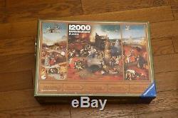 Puzzle Ravensburger 12000 pièces Bosch Tentation Saint-Antoine -RARE