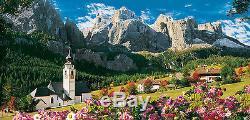 Puzzle Sellagruppe Dolomiten, 13.200 Teile, Gebirge, Alpen, Natur, Clementoni