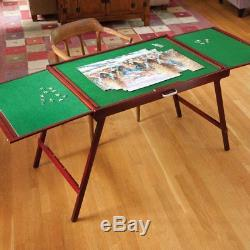 Puzzle Table Jigsaw Storage Board Collapsible Hobby Folding Portable Self Stand