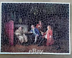 Puzzle bois découpé main EDDIE PUZZLES PARIS COMPLET 750 pièces vintage Vera