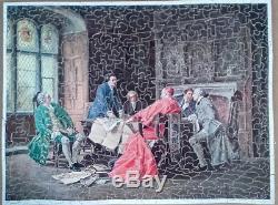 Puzzle bois découpé main ROYAL VERA PUZZLE COMPLET 700 pièces ancien