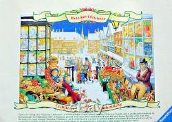 RARE 1997 1st Limited Edition Ravensburger Victorian Christmas 1000 Piece Puzzle