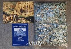 RARE! 9000 pics Ravensburger Jigsaw Puzzle TOWER OF BABEL made in mid 90s