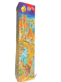 RARE HEYE 8000 jigsaw puzzle NEW YORK by Michael RYBA NEVER OPENED