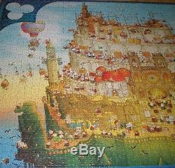 RARE HEYE Marino Degano That´s Life! Part II 2000 Puzzle Poster Complete