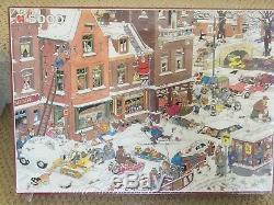 RARE Jan Van Haasteren 5000 piece JUMBO pieces Streetlife Winter SEALED