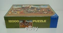 RARE Vintage Ravensburger Jigsaw Puzzle 12000 piece- 1983 Hieronymus Bosch