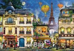RAVENSBURGER 17829 ABENDSPAZIERGANG DURCH PARIS 18000 TEILE PUZZLE Pieces Jigsaw
